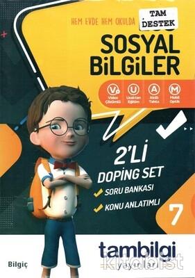 Tam Bilgi Yayınları - 7.Sınıf Sosyal Bilgiler 2 li Doping Set