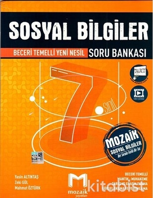 Mozaik Yayınları - 7.Sınıf Sosyal Bilgiler Soru Bankası