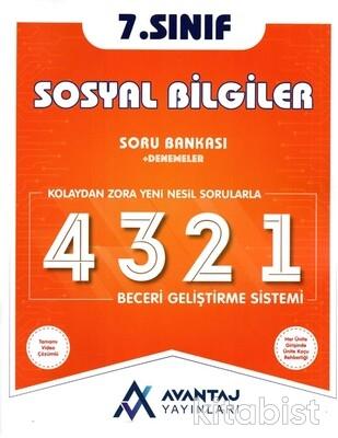Avantaj Yayınları - 7.Sınıf Sosyal Bilgiler Soru Bankası + Denemeler