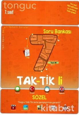 Tonguç Akademi - 7.Sınıf Taktikli Sözel Soru Bankası