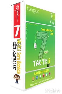 Tonguç Akademi - 7.Sınıf Taktikli Tüm Dersler Soru Bankası Seti (2 Kitap Takım)