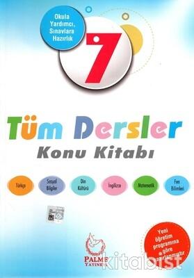 Palme Yayınları - 7.Sınıf Tüm Dersler Konu Kitabı