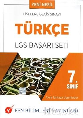 Fen Bilimleri Yayınları - 7.Sınıf Türkçe LGS Başarı Seti