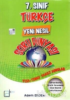 A Kare Yayınları - 7.Sınıf Türkçe Yeni Nesil Soru Dünyası