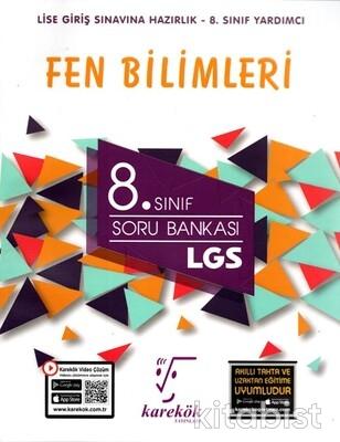 Karekök Yayınları - 8. Sınıf Fen Bilimleri Soru Bankası