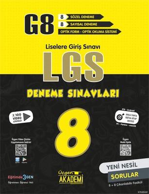 Üçgen Akademi - 8. Sınıf - G8 LGS - 8'li Deneme Sınavları