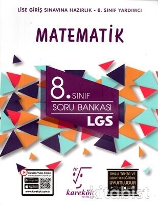 Karekök Yayınları - 8. Sınıf LGS Matematik Soru Bankası