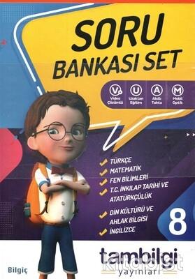 Tam Bilgi Yayınları - 8.Sınıf 6 lı Doping Soru Bankası Set