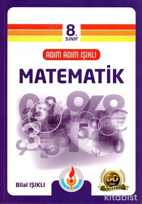 Işıklı Yayınları - 8.Sınıf Adım Adım Matematik Soru Bankası
