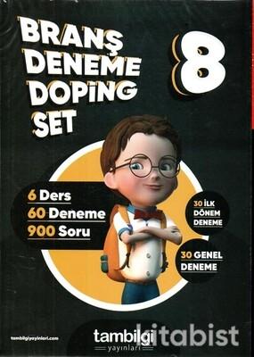 Tam Bilgi Yayınları - 8.Sınıf Branş Deneme Doping Set