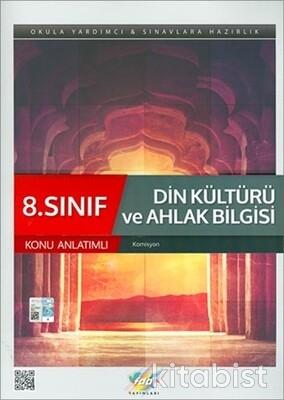 Fdd Yayınları - 8.Sınıf Din Kültürü ve Ahlak Bilgisi Konu Anlatımlı