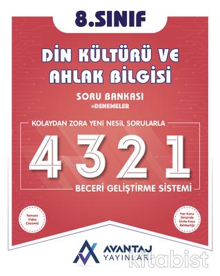 Avantaj Yayınları - 8.Sınıf Din Kültürü ve Ahlak Bilgisi Soru Bankası + Denemeler