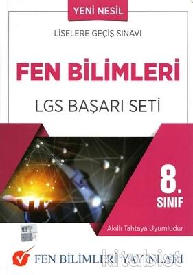Fen Bilimleri Yayınları - 8.Sınıf Fen Bilimleri LGS Başarı Seti