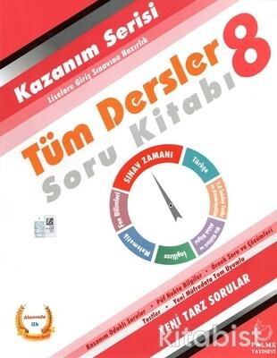 Palme Yayınları - 8.Sınıf Kazanım Serisi Tüm Dersler Soru Kitabı