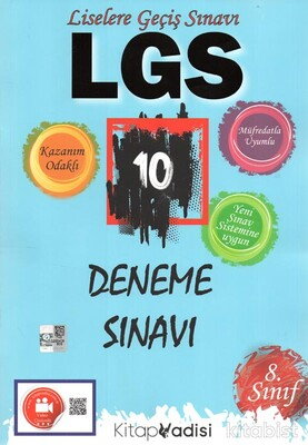 Kitap Vadisi Yayınları - 8.Sınıf LGS 10 Lu Deneme Sınavı