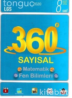 Tonguç Akademi - 8.Sınıf LGS 360 Soru Bankası Sayısal