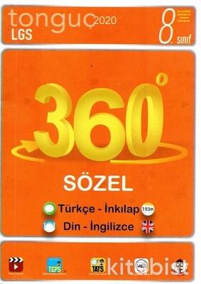 Tonguç Akademi - 8.Sınıf LGS 360 Soru Bankası Sözel
