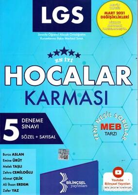 Bilinçsel Yayınları - 8.Sınıf LGS Hocalar Karması 5 Li Deneme Sınavı