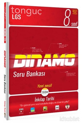 Tonguç Akademi - 8.Sınıf LGS İnkılap Tarihi Dinamo Soru Bankası
