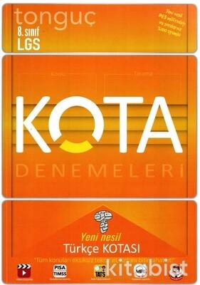 Tonguç Akademi - 8.Sınıf LGS KOTA Denemeleri Türkçe Kotası