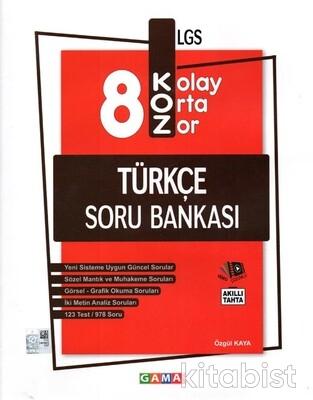 Gama Okul - 8.Sınıf LGS Koz Türkçe Soru Bankası