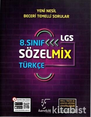 Karekök Yayınları - 8.Sınıf LGS Sözelmix Türkçe