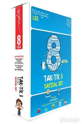 Tonguç Akademi - 8.Sınıf LGS Taktikli Soru Bankası Sayısal Set (2 Kitap Takım)