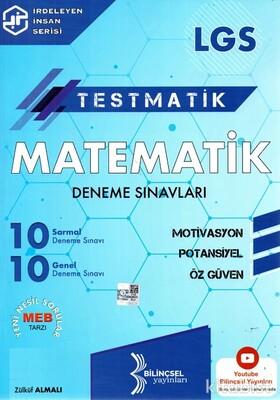 Bilinçsel Yayınları - 8.Sınıf LGS Testmatik Matematik Deneme