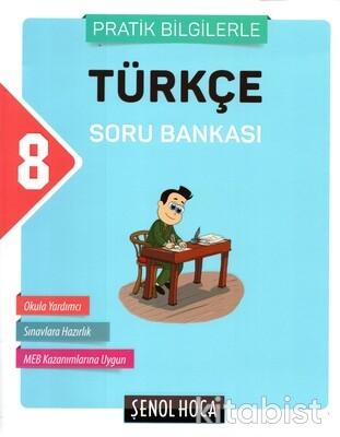 Şenol Hoca Yayınları - 8.Sınıf LGS Türkçe Soru Bankası