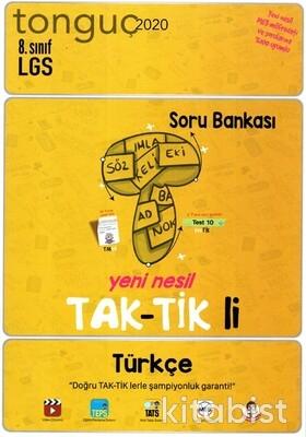 Tonguç Akademi - 8.Sınıf LGS Türkçe Taktikli Soru Bankası