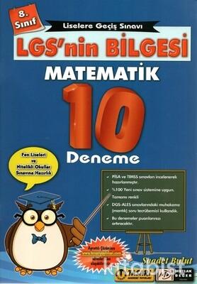 Tasarı Akademi - 8.Sınıf LGS'nin Bilgesi Matematik 10'lu Deneme Sınavı