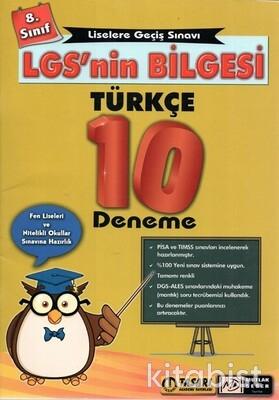 Tasarı Akademi - 8.Sınıf LGS'nin Bilgesi Türkçe 10'lu Deneme Sınavı