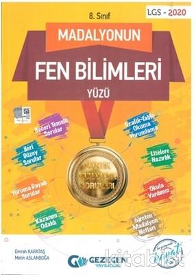 Gezegen Yayınları - 8.Sınıf Madalyonun Fen Bilimleri Yüzü