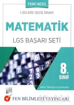 Fen Bilimleri Yayınları - 8.Sınıf Matematik LGS Başarı Seti