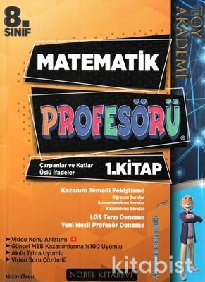 Nobel Kitabevi - Toy Akademi 8.Sınıf LGS Matematik Profesörü 1.Kitap