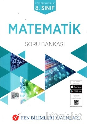 Fen Bilimleri Yayınları - 8.Sınıf Matematik Soru Bankası