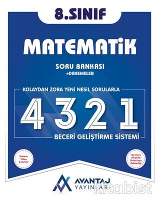 Avantaj Yayınları - 8.Sınıf Matematik Soru Bankası + Denemeler