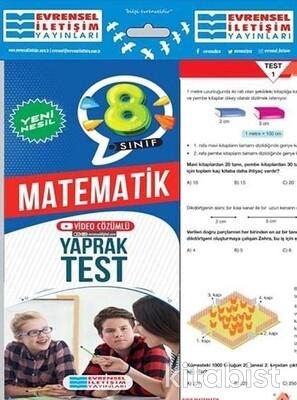 Evrensel Yayınları - 8.Sınıf Matematik Yaprak Test