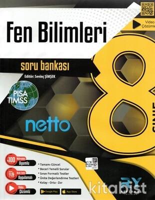Referans Yayınları - 8.Sınıf Netto Fen Bilimleri Soru Bankası