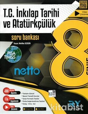 Referans Yayınları - 8.Sınıf Netto T.c İnkılap Tarihi ve Atatürkçülük Soru Bankası