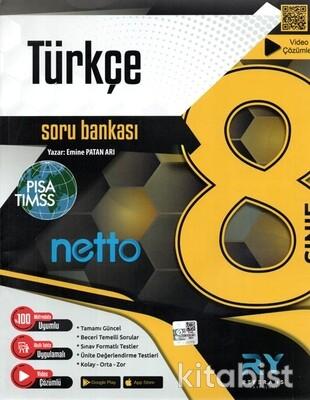 Referans Yayınları - 8.Sınıf Netto Türkçe Soru Bankası