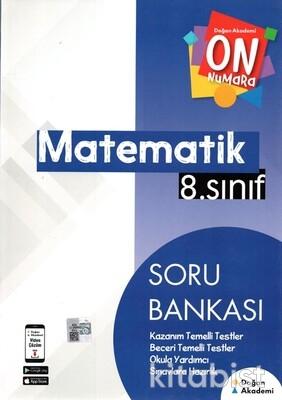 Doğan Akademi Yayınları - 8.Sınıf On Numara Matematik Soru Bankası