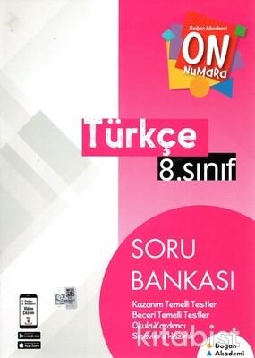 Doğan Akademi Yayınları - 8.Sınıf On Numara Türkçe Soru Bankası
