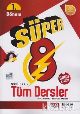 Nitelik Yayınları - 8.Sınıf Süper Tüm Dersler Soru Bankası