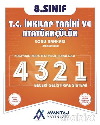 Avantaj Yayınları - 8.Sınıf T.C.İnkılap Tarihi ve Atatürkçülük Soru Bankası + Denemeler