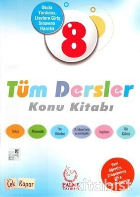 Palme Yayınları - 8.Sınıf Tüm Dersler Konu Kitabı