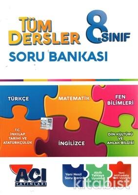 Açı Yayınları - 8.Sınıf Tüm Dersler Soru Bankası