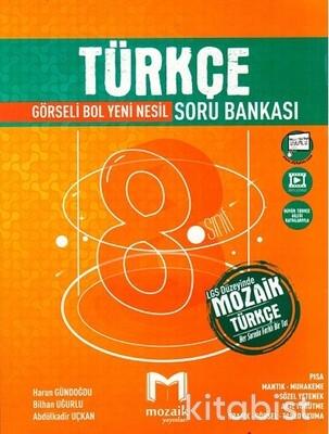 Mozaik Yayınları - 8.Sınıf Türkçe Soru Bankası