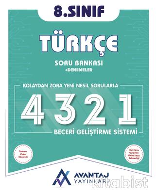Avantaj Yayınları - 8.Sınıf Türkçe Soru Bankası + Denemeler