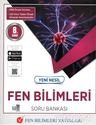 Fen Bilimleri Yayınları - 8.Sınıf Yeni Nesil Fen Bilimleri Soru Bankası
